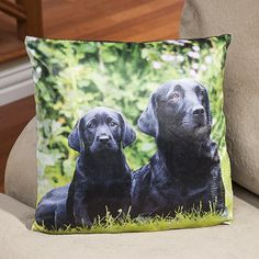 Black Labrador Retriever Pillow - Gifts for pet lovers, gifts for pet people, pet gifts, Christmas gifts for pet lovers, gifts for dog lovers