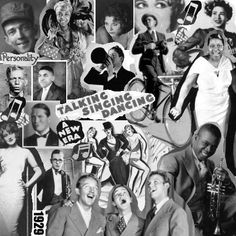 The end of the 20s, the beginning of the Great Depression.  We got by with songs  soon to be standards, from people like Louis Armstrong, Jimmie Rodgers, and Ethel Waters. Heigh-ho, everybody!