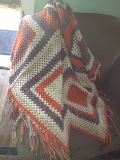 Custom made Afghan blanket-made to order by DesignsbyDazey on Etsy