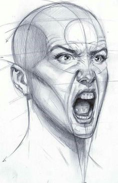 best ideas drawing reference head anatomy is part of pencil-drawings - pencil-drawings Anatomy Sketches, Anatomy Drawing, Anatomy Art, Drawing Sketches, Drawing Tips, Pencil Drawings, Hand Drawings, Eye Drawings, Dress Sketches