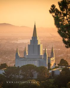 Oakland Calinfornia Temple | LDS Temple Pics