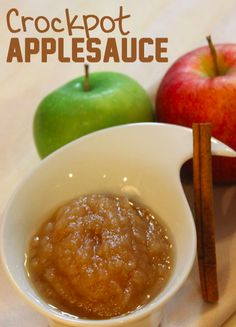 Crockpot Applesauce Recipe - Wanna Bite