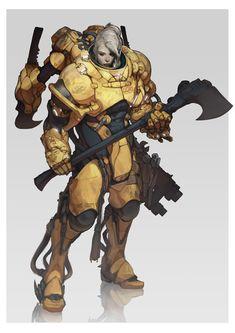 Immortalism and Interplanetarianism Sci Fi RPG classes by Philipp Kruse Sci Fi Rpg, Sci Fi Armor, Armor Concept, Concept Art, Character Concept, Character Art, Futuristic Armour, Ex Machina, Cyberpunk Art
