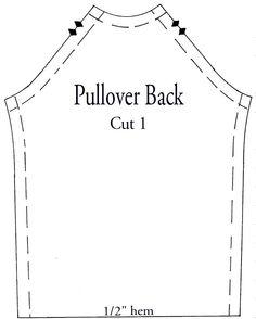 Pullover back