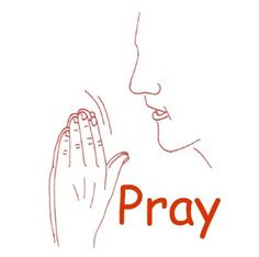 Sign for Prayer in American Sign Language