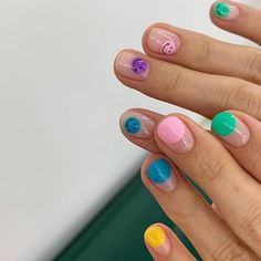 Cute Nail Art, Cute Nails, Pretty Nails, Minimalist Nails, Nail Swag, Nail Polish, Gel Nails, Nail Design Glitter, Def Not