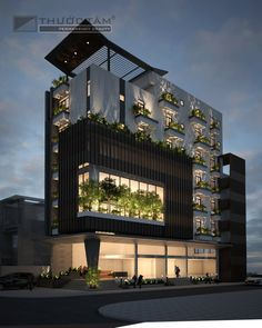 Hotel Design Architecture, Hospital Architecture, Residential Building Design, Commercial Architecture, Building Exterior, Facade Architecture, Building Facade, Modern Bungalow Exterior, Modern Exterior House Designs