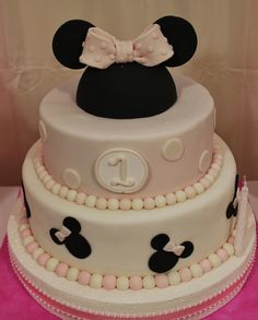Minnie Baby Cake by Violeta Glace