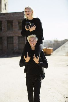 Meet fashion's ruling brother-sister duo