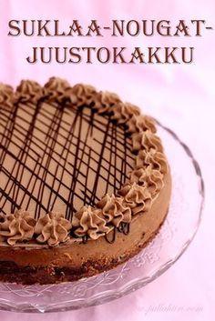 Pie Recipes, Dessert Recipes, Finnish Recipes, Sweet Bakery, Cheesecakes, Yummy Treats, Cravings, Cake Decorating, Deserts