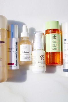 Applying a retinol right over an acid diminishes the effectiveness of both ingredients.
