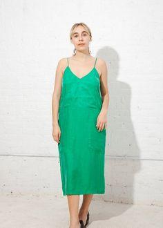 L.F.Markey Leon Dress - Green | Garmentory