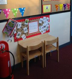 Short on space for one-one-tutoring? Take a look at this great idea from St Catherine's Primary School in Sheffield. The school have put small foldaway tables in the corridor with a small Read Write Inc. display above them. Find out more about the Read Write Inc. One-to-one Tutoring Kit at: https://global.oup.com/education/product/9780198330844