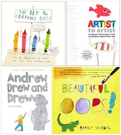 hello, Wonderful - THE BEST ART BOOKS FOR KIDS AGES 3-6