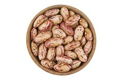 Pinto beans have no specific name in Filipino, so finding them in your nearest market can be a challenge. But they do have very distinct features: they are big and brown with splashes of reddish stripes. When cooked, the reddish splashes disappear, and the beans turn into a pinkish color.  Pinto beans are virtually fat-free, an excellent source molybdenum, folate, and manganese. Not only that, they are also high in vitamin B1, phosphorus, iron, potassium, and cooper.