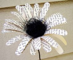 I ::love:: this idea for a simple centerpiece. I think I'll make them with sheet music instead <3