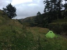 Great campsite on the #teararoatrail for the night. Sectionhiked