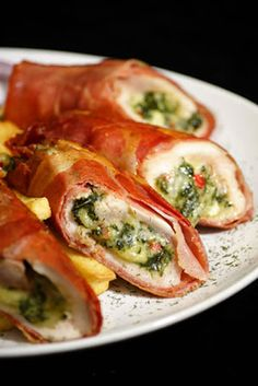 Chicken Breast Stuffed with Broccoli and Cheese