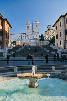 Spanish Steps, Rome, Italy - Places I want to see! Places Around The World, Oh The Places You'll Go, Great Places, Places To Travel, Beautiful Places, Places To Visit, Around The Worlds, Travel Destinations, Rome Travel
