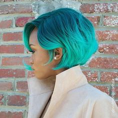 ***Try Hair Trigger Growth Elixir*** ========================= {Grow Lust Worthy Hair FASTER Naturally with Hair Trigger} ========================= Go To: www.HairTriggerr.com =========================      This Ombre Teal Bob is HOT! HOT!  HOTTT!!!