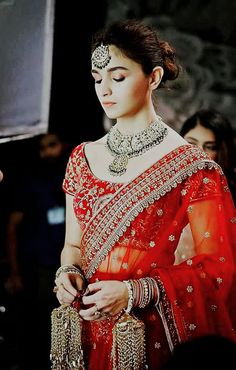 what are indian wedding dresses called Indian Bridal Outfits, Indian Bridal Lehenga, Indian Dresses, Indian Bridal Wear, Bollywood Girls, Bollywood Fashion, Bollywood Actress, Alia Bhatt Photoshoot, Indian Photoshoot