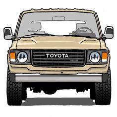 Toyota Land Cruiser (HJ60) #toyota #landcruiser... - DYC Mehr