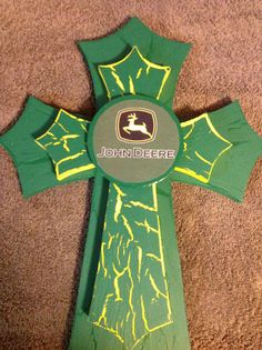 John Deere Crosses by TheCrossedCupcake on Etsy, $25.00