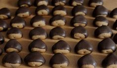 Castagnotti… Difficile dire se sono castagne o biscottini!