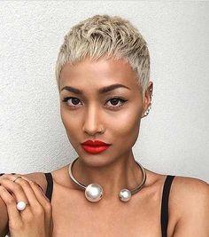 Pixie Hair Cuts for Black Women