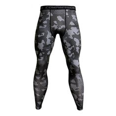 Camo Joggers For Men Sweatpants Quick Dry Bodybuilding Jogger Pants Fitness Leggings Compression Pants Dry Fit Mens Tights Mens Running Tights, Mens Tights, Running Pants, Sport Pants, Yoga Pants, Sports Leggings, Leggings Are Not Pants, Camouflage Leggings, Gym Leggings