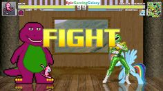 Barney The Dinosaur & Mew The Pokemon VS Green Ranger & Bubbles The Powerpuff Girl In A MUGEN Match This video showcases Gameplay of Barney The Dinosaur From The Barney & Friends Series And Mew The Legendary Pokemon VS The Green Ranger From The Mighty Morphin Power Rangers Series And Bubbles The Powerpuff Girl From The Powerpuff Girls Series In A MUGEN Match / Battle / Fight