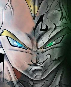 Some dope Majin Vegeta fan art for you guys - I'm gonna try and do like 4 or 5 shoutouts for Contest Winners today - by devilzsmile.com #devilzsmile