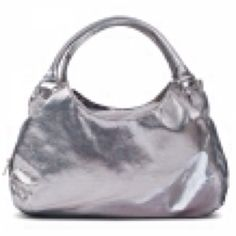 Brooklyn in metallic silver by Susan Nichole