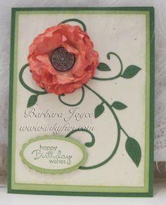 CC479 DT sample- Barbara's card