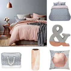 The from pairs earthy-pink undertones with bold metallic I would use as a with or with & Co Set 5 Piece Living & Co Living & Co Copper Living & Co Copper Blush Living & Co Chevron Rectangle Grey Copper Bedroom Decor, Gold Bedroom, Diy Bedroom, Bedroom Ideas, Copper Blush, Vanity Room, Room Goals, New Room, Home Living Room