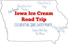 Iowa Ice Cream Road Trip at North Iowa Drive-Ins - Viking Drive-Inn in Ventura and Stan's Drive-In in Osage