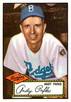 1952 Topps baseball #1