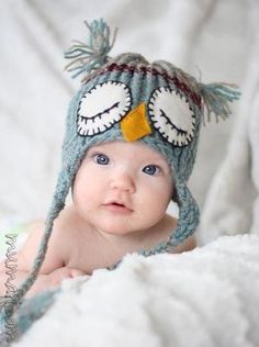 aw, cute baby hat by meire.Art