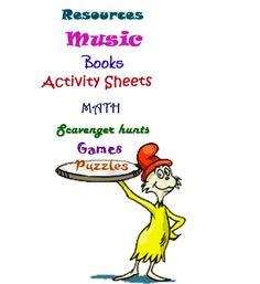 Read across America- love the activities! #neareads