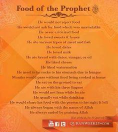 Our prophet pbuh