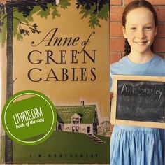 "Who else loves this red-headed ragamuffin with the indomitable spirit and endless ""scope for imagination?"" Make ANNE OF GREEN GABLES real for kids with experiential activities, hands-on projects, multisensory prop ideas, handouts, prompts, and  more. Read more and get a free template at https://litwits.com/product/anne-of-green-gables/    #readforfunlearnforlife"