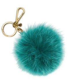 Michael Michael Kors Extra Large Fur Pom Pom Key Chain and I have it in black Michael Kors, Louis Vuitton Keychain, Fendi, Fur Keychain, Jewelry Accessories, Fashion Accessories, Charms, Art Bag, Deep Teal