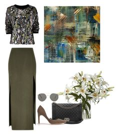 """""""EARTH GREEN"""" by eellcat on Polyvore"""