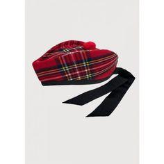 Scottish glengarry hat royal Stewart Scottish Hat, Beanie, Hats, Fashion, Moda, Hat, Fashion Styles, Beanies, Fashion Illustrations