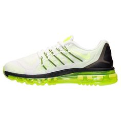new product d1fe9 df0e9 Nike Air Max 2015 (GS) Shoes Mens - White Volt Black 705457 100