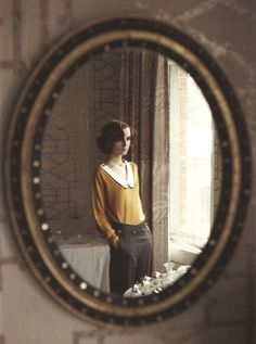 mirror + sweet vintage outfit  colenimo aw 10/11