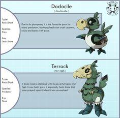 New Fossil Dodo Fakemon by Twime777.deviantart.com on @DeviantArt