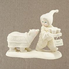 "Department 56: COLLECTING - ""Royal Cocoa"" - New  Snowbabies May 2014 Introductions"
