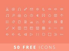 50 FREE Icons by Balraj Chana