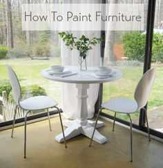 This Furniture Painting Tutorial Is Easy- Just Follow Our Step-By-Step Breakdown